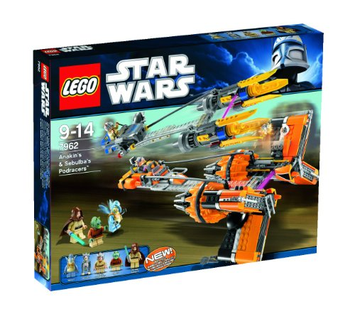 LEGO Star Wars 7962: Anakin's and Sebulba's Podracers