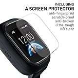 NEW-VERSION-TickTalk-10S-Touch-Screen-Kids-Wearable-tracker-wrist-Phone-w-GPS-locator-Controlled-by-Apple-and-Android-phone-APP-Including-1-FREE-MONTH-w-T-MOBILE-NETWORK-black