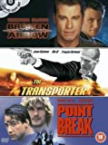The Transporter/Broken Arrow/Point Break [DVD]