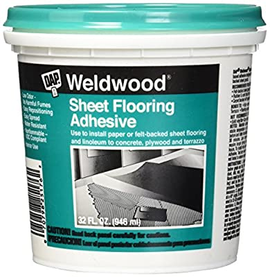 Dap 25176 Weldwood Sheet Flooring Adhesive 1-Quart