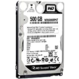 Western Digital 500GB SATA 16MB 2.5 inch Internal Hard Drive – Scorpio Black