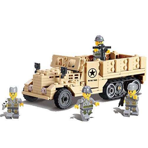 Kazi Building Block Century Military M2 Half Track Usaf #82003 205pcs (Military Building Blocks compare prices)