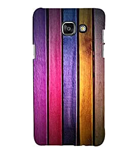 printtech Wooden Colored Pattern Back Case Cover for Samsung Galaxy A5 (2016)