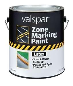 Amazon.com: (24-135G-4PK) Blanca Zona látex Pintura para marcar - 1