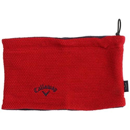 (キャロウェイアパレル)callaway apparel ネックウォーマー 241-286555  レッド 100 FR