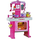 UDee Multi Skill Kitchen Pretend Play Set Toy With Music And Lights For Girls