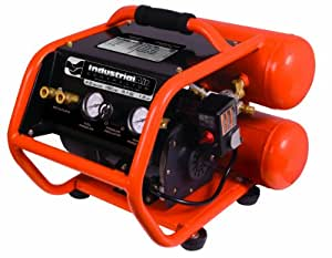 Industrial Air Contractor CSB1680521 4-1/2-Gallon Roll Cage Oil Free Direct Drive Air Compressor