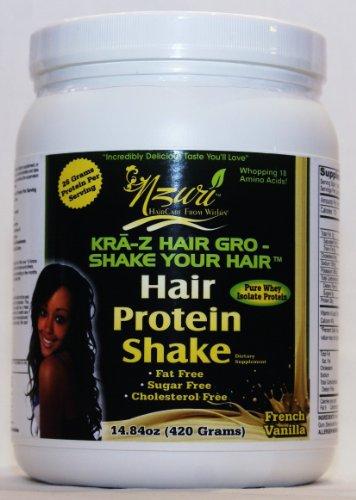 Nzuri Kra-Z Hair Grow Whey Protein Shake - Vanilla front-236794