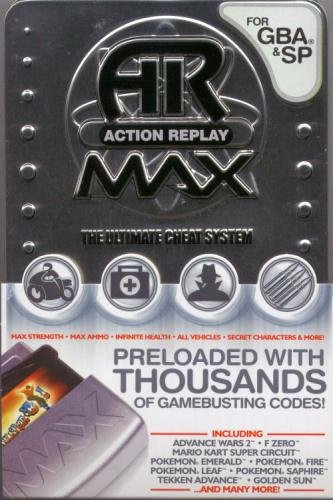 Nintendo Datel Gameboy Advance GBA & SP Action Replay Max (Gameboy Color Gameshark compare prices)