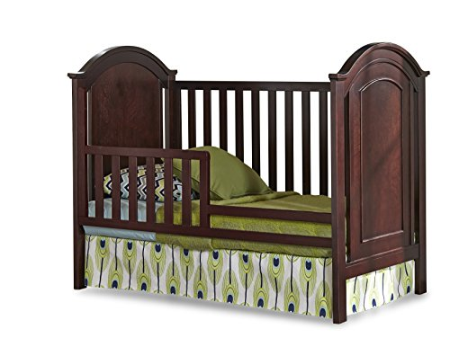 Imagio Baby Harper Toddler Guard Rail, Chocolate Mist