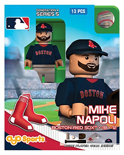 MLB Boston Red Sox Mike Napoli Generation 4 Mini Figure, Small, Black - 1
