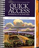 img - for Quick Access Reference for Writers Custom Edition for Portland Community College book / textbook / text book