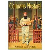 Colman's Mustard Cricketer Postcard