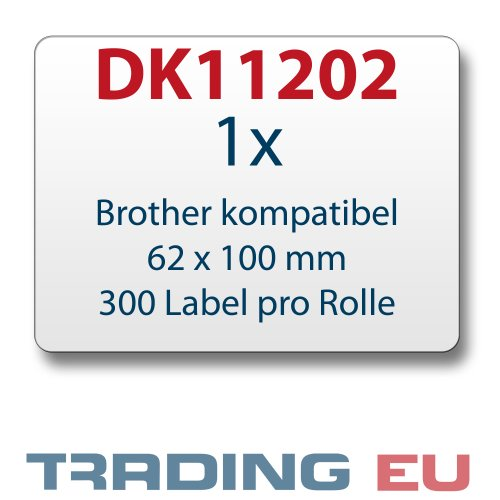 Label kompat. zu Brother DK11202