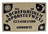 Hand Finished Wooden Sun, Moon & Stars Talking Board Set Complete with All-Seeing Eye Wooden Planchette, Classic Ouija Style Board