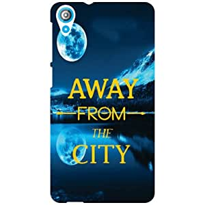 HTC Desire 820 Back Cover - Away From City Designer Cases