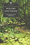Poetry and Prose (Everyman's Library) (0460877143) by Hopkins, Gerard Manley