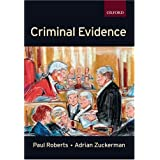 Criminal Evidence (Clarendon Law Series)by Paul Roberts