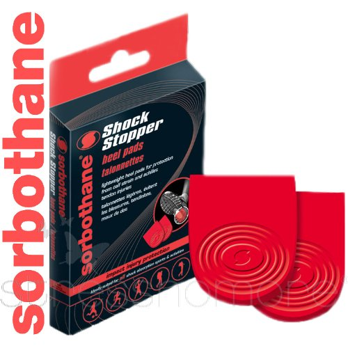 Sorbothane Medium Size 6 to 8 Shock Stopper Heel Pads