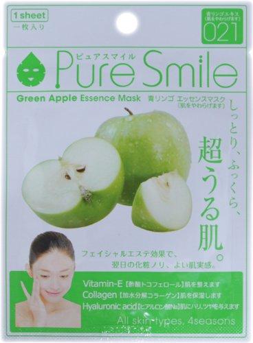 ピュアスマイルエッセンスマスクシリーズ 青リンゴ10枚セット