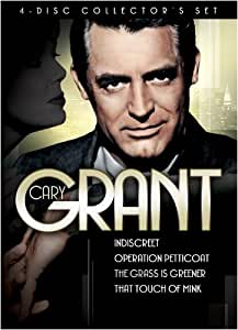 Cary Grant 4-Disc Collector's Set (Indiscreet / Operation Petticoat / The Grass Is Greener / That Touch of Mink)