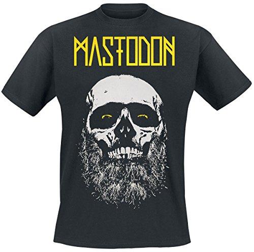 Mastodon Beard Skull T-Shirt nero M