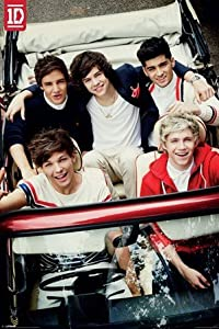"""One Direction - Car Poster - 35.7x23.8"""" from Pyramid"""