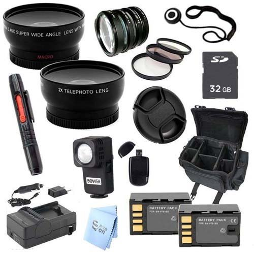Advanced Professional Kit: For Jvc Gc-Px100 Full Hd Everio Camcorder