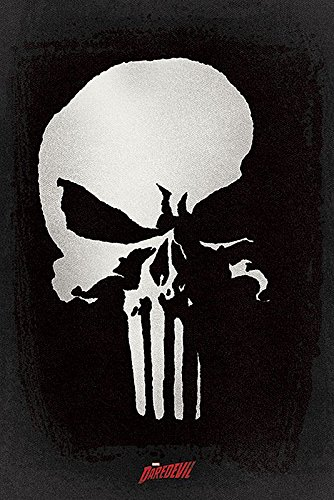 Daredevil Serie-Poster Marvel Punisher/Castigador, 61 cm x 91,5 cm 1-Poster con sorpresa regalo