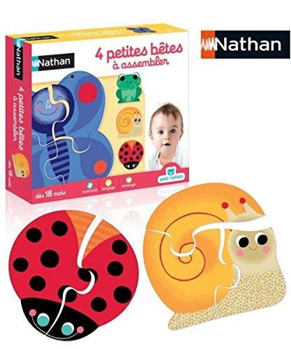 Nathan - 31448 - 4 Petites Bêtes À Assembler