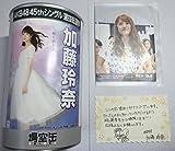 AKB48 加藤玲奈 場空缶 直筆 メッセージカード サイン