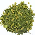 Matcha GenmaiCha Premium 7.0 oz Loose Green Tea with Brown Rice and Matcha