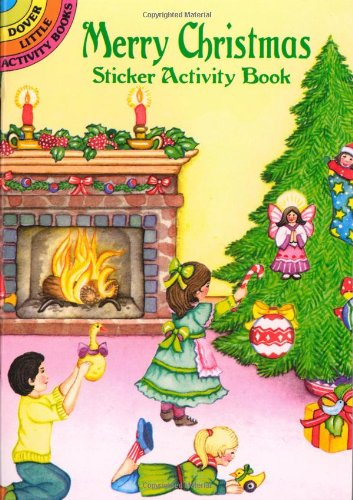 Merry Christmas Sticker Activity Book (Dover Little Activity Books)
