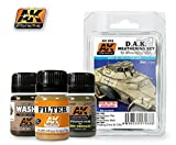 AK Interactive Africa Korps Weathering Set # 00068 by AK Interactive