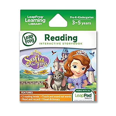 LeapFrog Disney Sofia The First Sofia's New Friends Interactive Storybook (for LeapPad Tablets) by LeapFrog