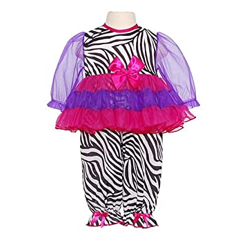 Amazon.com: Laura Dare Pink Zebra 1pc Pajamas Sleepwear