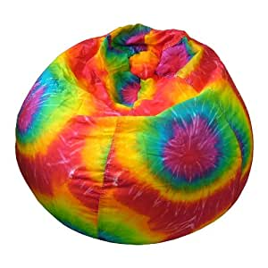 Tie Dye Bean Bag Chair Size: Extra Large