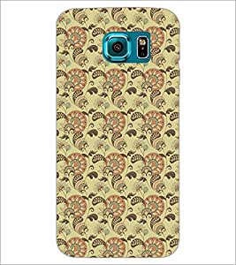 PrintDhaba Pattern D-5210 Back Case Cover for SAMSUNG GALAXY S6 (Multi-Coloured)