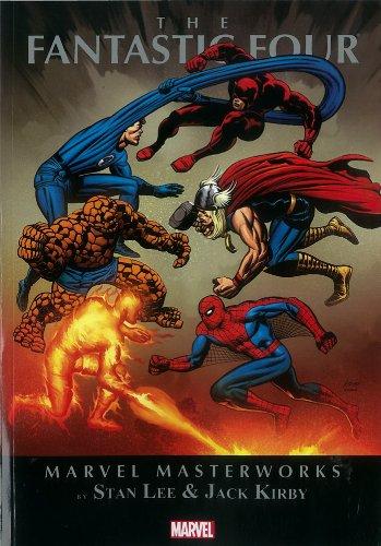 Mmw Fantastic Four 08 (Marvel Masterworks)