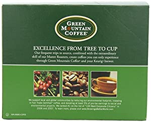 Green Mountain Coffee French Vanilla, K-Cup for Keurig Brewers
