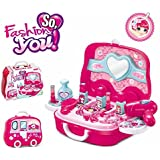 New Fashion And You Carry Along Beauty Set Toy With Briefcase, Accessories