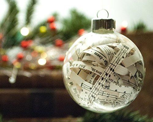 Vintage Hymn Christmas Ornament