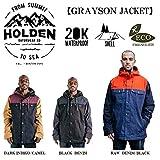 15-16 HOLDEN ウェア ホールデン スノーボードウェア GRAYSON JACKET グレイソン ジャケット メンズ (Black, M)