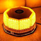 NEW Bright 240 LED Truck Vehicle Car Roof Top Flash Strobe Emergency Warning Hazard Warning Light Yellow Amber