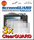 3x Olympus SZ-31 MR HIS Camera Premium Clear LCD Screen Protector Cover Guard Shield Film Kits. Exact fit, no cutting. (3 pieces by GUARMOR)