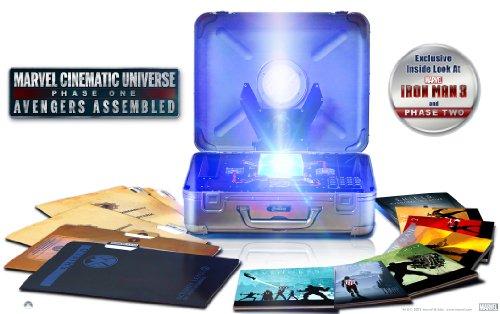 《漫威宇宙:第一阶段》手提蓝光收藏礼盒(10碟装、1区) $129.99,可直邮中国