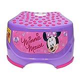 Disney Minnie Mouse Step and Glow Step Stool, Purple