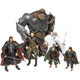The Return of the King LEGOLAS PIPPIN MERRY ARAGORN GANDALF ATTACK TROLL Action Figure Final Battle of Middle-earth Gift Set