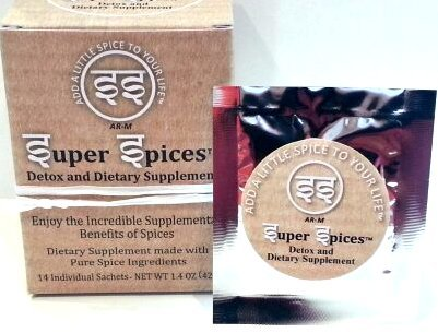 Super Spices Detox And Spice Supplement