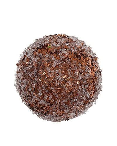 Winward Small Iced Glitter Ball, Copper